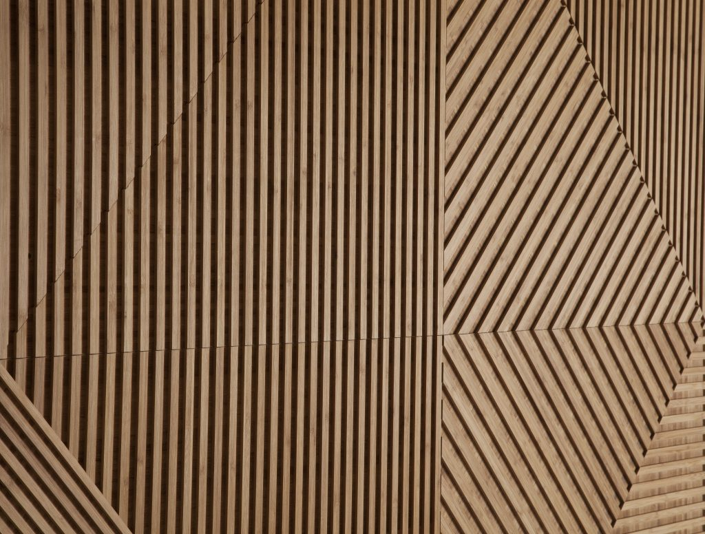 Plyboo Australia Fractal Wall Panels Bamboo And Palm Wood
