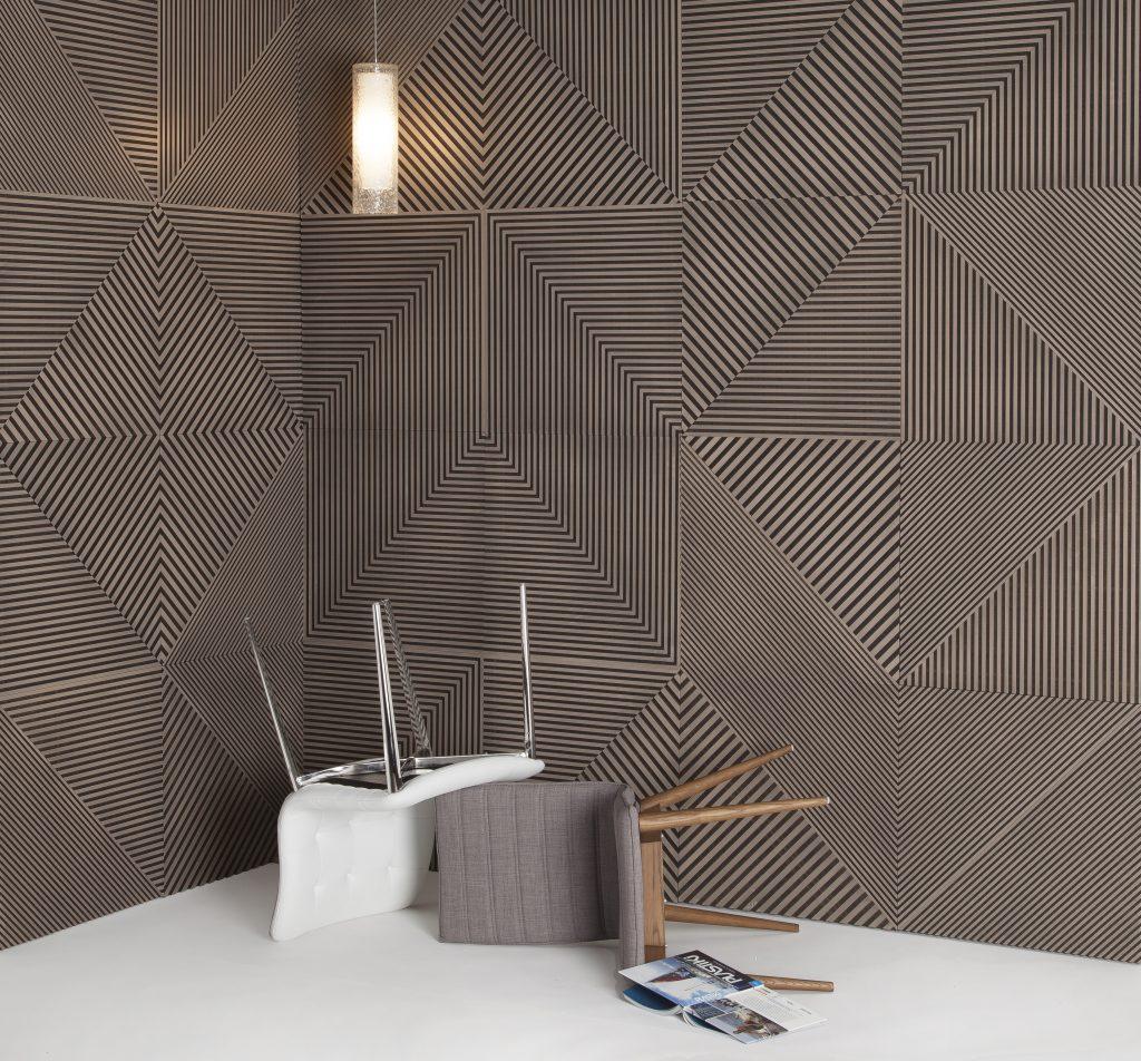 Fractal Wall Panels | Bamboo and Palm Wood